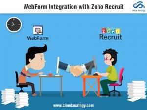 WebForm Integration with Zoho Recruit