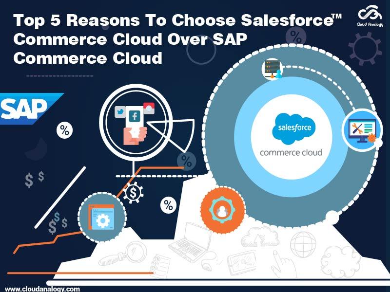 Top 5 Reasons To Choose Salesforce Commerce Cloud Over SAP Commerce Cloud