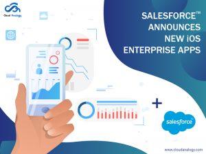 Salesforce Announces New iOS Enterprise Apps
