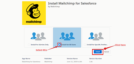 Mailchip Integration With Salesforce4