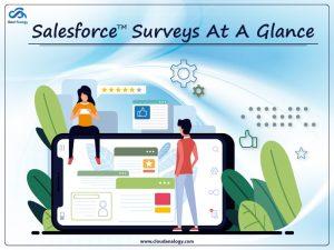 Salesforce Surveys At A Glance