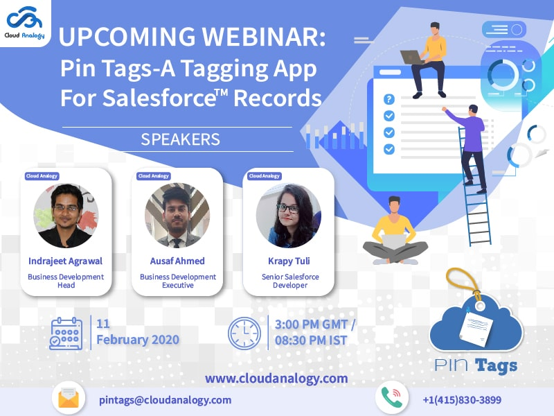 Watch The Webinar: Pin Tags-A Tagging App for Salesforce Records