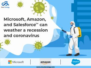Microsoft, Amazon, And Salesforce Can Weather A Recession And Coronavirus