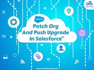 Patch Org And Push Upgrade In Salesforce