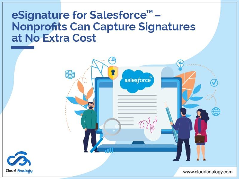 Conga Sign: eSignature For NonProfits At No Cost