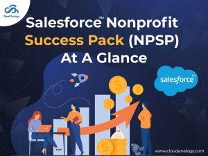 Salesforce Nonprofit Success Pack (NPSP) At A Glance