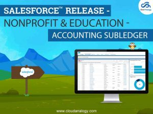 Salesforce Release –  Nonprofit & Education – Accounting Subledger