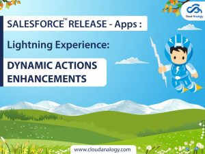 Salesforce Release –  Apps: Lightning Experience: Dynamic Actions Enhancements